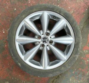 """17"""" MINI Single Conical Spoke Grey R121 Alloy Wheel R55 R56 R57 6857070 #236"""