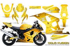 SUZUKI GSXR GSX 600 750 2004-2005 GRAPHIC KITS CREATORX DECALS COLD FUSION Y