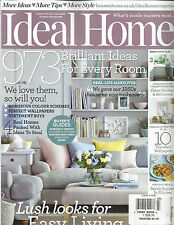 IDEAL HOME, MARCH, 2014  ( 973 BRILLIANT IDEAS  FOR EVERY ROOM ) WE LOVE THEM SO