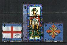 Gibraltar 2003 St George Martyrdom--Attractive Art/ReligionTopical (938-40) MNH