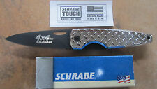 SCHRADE SQ247 VIPER 4X4 TACTICAL LINERLOCK KNIFE MADE IN USA NEW BOX AND PAPER