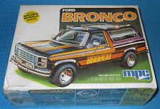 MPC Ford Bronco-Molded Black-1980 USA-Sealed-Golden Wheels-Model Car Swap Meet