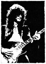 handcrafted greeting card JIMMY PAGE [ led zepellin ]