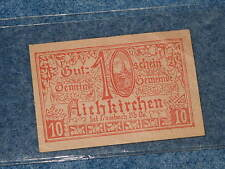 1921 Austria Notgeld 10 Aichkirchen note B8358