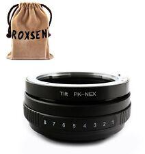 Roxsen Pentax K PK mount lens to Sony E NEX Tilt Mount Adapter NEX-5 C3 7 VG10E