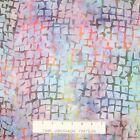 Tonga Batik Fabric - Snorkel Square Outlines B3801 - Timeless Treasures YARD