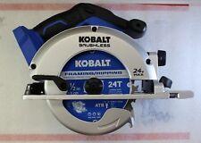 "New Kobalt KCS 6524B-03 24V Li-Ion Brushless  6-1/2"" Circular Saw - Bare Tool"
