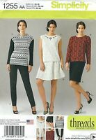 Simplicity 1255 Misses'/Women's Tops, Pants and Skirts       Sewing Pattern