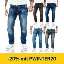Herren Jeans Hose Lorenzo Loren Regular Fit Stonewashed Jeans W29-W44 M17 NEU