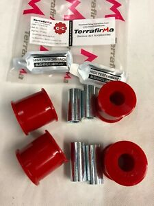 TERRAFIRMA Land Rover Defender Front Radius Arm Axle End Poly Bushes 94 onTF1002