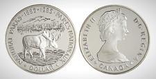 Canada 1985 National Parks Centennial Proof UNC Silver Dollar!!