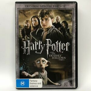 Harry Potter and the Deathly Hallows - Part One - 2 DVD - AusPost with Tracking