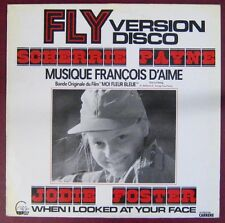 Moi Fleur bleue 33 tours Jodie Foster Jean Yanne Sydne Rome Bernard Giraudeau
