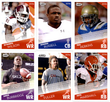 2016 Sage Hit Football - Base Cards - Pick From Pre RC Draft Card #'s 1-150