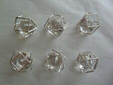 6er Set Formano Tischdeko/Streudeko Ziersteine/Dekosteine Größe ca. 2,5 cm NEU