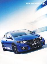 2015 Honda Civic Hatch 32-page Original Australia Car Sales Brochure Catalog