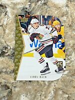 2019-20 Upper Deck 94-95 Die Cut Rookie Tribute Kirby Dach #15 Blackhawks RC