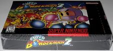 Super Bomberman 2 (Super Nintendo Entertainment System) Brand new! h-seam!