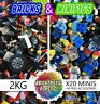 2 KG x1750pc's LEGO CREATIVITY PACK +20 MINIFIGURES + x30 FREE ACCESSORIES!