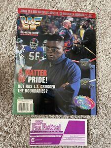 WWF Official Souvenir Program WrestleMania XIFan Festival Magazine RARE WWE