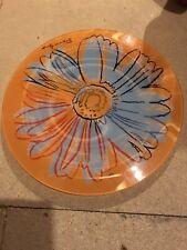 "andy warhol"" daisy"" glass plate"