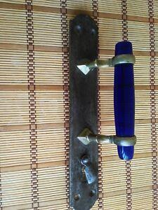 """Vintage door handle. Artel """"Trud"""" 20-30s.Russia Antique doorknob. Large doorknob"""