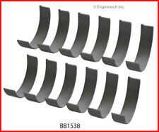 Engine Connecting Rod Bearing Set-SOHC, Eng Code: J35A9, Honda, 24 Valves