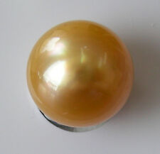 GOLD AUSTRALIAN 11.5mm! SOUTH SEA PEARL UNDRILLED 100% UNTREATED +CERT AVAILABLE