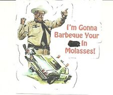 SMOKEY AND THE BANDIT SHERIFF BUFORD T. JUSTICE  Sticker Decal