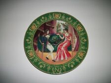 """La Rencontre"" Collector Plate By C.Boulme*Josephine et Napoleon"