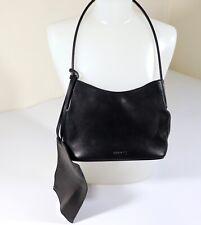 Authentic BALLY Shoulder Bag Leather Handbag w/Inner Wallet Sz Small Black EUC