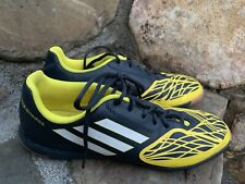 Adidas Free Football Speedtrick Shoes Size 6.5M Black Yellow Indoor Soccer ECU
