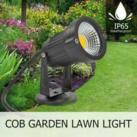 COB LED Solarleuchte Strahler Solarstrahler Gartenlampe Spot Licht Wasserdicht