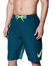 """NEW Mens Nike Vortex 11"""" Volley Board Shorts Size M Blue Force Retail $58"""