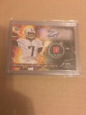 Zach Mettenberger 2014 Topps Fire Tag Patch Auto #d 1/1 TRUE 1 of 1 RC VERY RARE