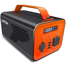 62400mAh Power Station Solar Generator CPAP Battery w/ 110V AC 12V DC USB Type-C