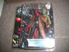 HELLBOY FIGURE WITH IVAN THE CORPSE  MEZCO  7 inch  figure still sealed