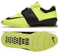 1b991b722845 Nike Romaleos 3 Weightlifting Shoe 852933-700 Volt Black UK 14 EU 49.5 US 15