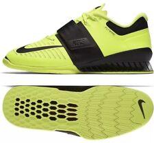 official photos 57025 44d52 Zapato de Levantamiento de Pesas Nike Romaleos 3 852933-700 Volt Negro UK  14 EU 49.5 nos 15 Nuevo
