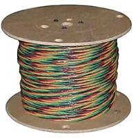 Solid Copper Wire 125 ft 12//3 wG Submersible Well Pump Wire Cable