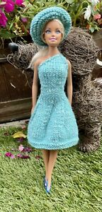hand knitted barbie clothes