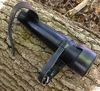 NEW LEATHER RIDING SADDLE CASE HUNTING FLASK STEEL HORSE HACKING CONE STEEL