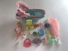 Mattel Barbie baby Krissy accessories