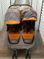 Baby Jogger City Mini Twin Standard Double Seat Stroller -Yellow & Gray