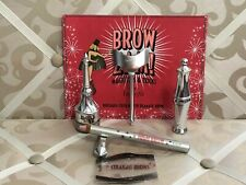 BENEFIT BIGGER & BOLDR BROWS KIT ~ #1 ~ 5 PIECE SET ~ NWOB