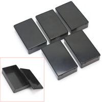 5 Pcs Plastic Electronic Project Box Enclosere Instrument Case 100x60x25mm awe