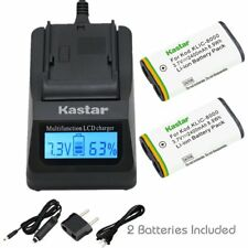 KLIC-8000 Fast Charger & Battery for Kodak Z612 IS, Z712 IS, Z812 IS, Z8612 IS