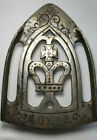 Antique Nickel Plated ROYAL Cast Iron Stand    (13-1)