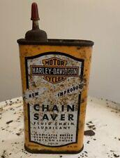 Vintage Harley Davidson Chain Saver Oil Can 99875-50 Panhead Knucklehead WL