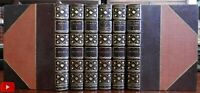 Bulwer Lytton Works 6 vol. set gorgeous leather set limited edition Rienzi Harol